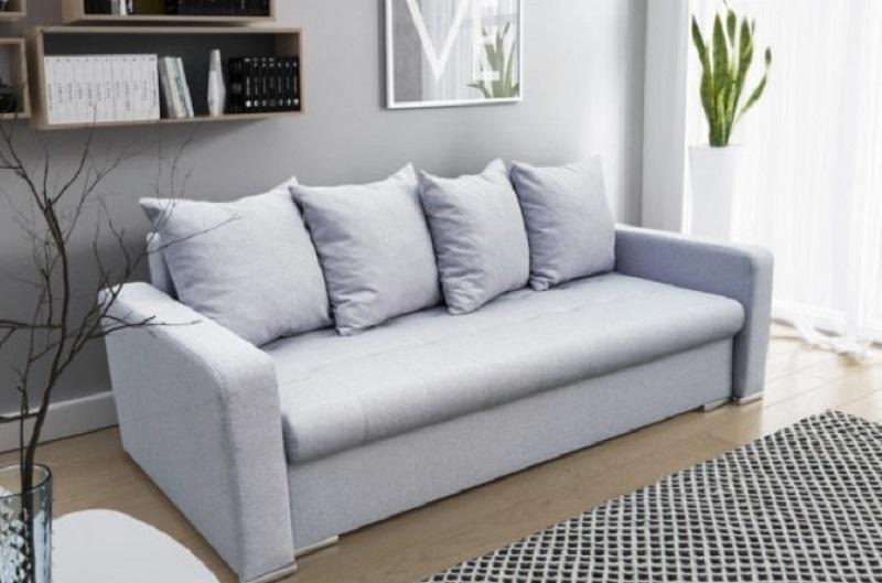 Il divano letto si sposa perfettamente nei piccoli uffici